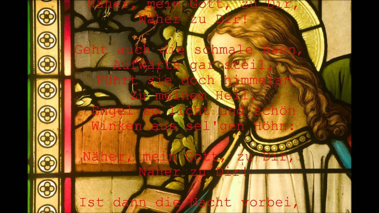 Näher, mein Gott, zu Dir - Nearer, My God, to Thee